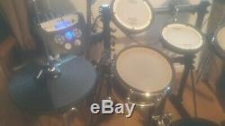 Roland TD-6V V-Drums Electronic Drum Kit, With upgrades drum kit
