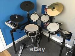 Roland TD-9KX electronic Drum Kit Upgraded