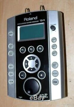 Roland TD-9 V Drums electronic module & VEX pack NICE brain 99 kits VERSION 2