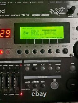Roland Td12 electronic drum kit