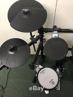 Roland Td-3 Electric Electronic Digital Drum Kit Set With Extra Tom Pad