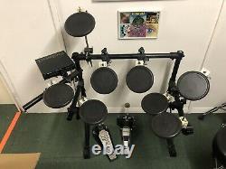 Roland Td-7 Electric Electronic Digital Drum Kit Set Full Set Up