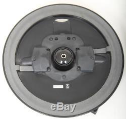 Roland VH-12 Black Electronic Hi-Hats + Clutch + Anti-Rotation, Dual Zone Cymbal