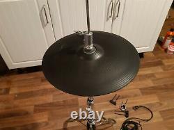 Roland VH-12 Electronic Hi-Hats Black + Hat Stand (vh11 vh13)