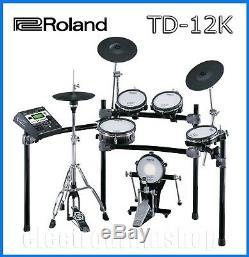 Roland V DRUMS TD-12K electronic kit FULL MESH plus EXTRAS & VEX PACK
