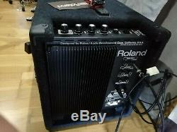 Roland V-Drums Electronic Kit & Amp (TD8, pd80, vh11, pd120, kd80, cy12, pm3, seat)