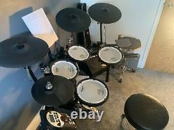 Roland V Drums TD-11KV Electronic drum kit. Upgraded with extras