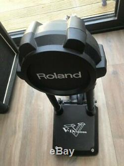 Roland V-Drums TD-25K Electronic Drum Set Kit with PM-03 personal drum monitor