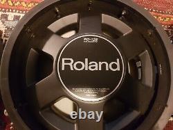 Roland V-drum PD-125BK 12 Dual Trigger Mesh Electronic Drum Pad