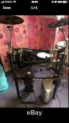 Roland electronic drum kit