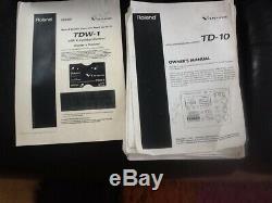 Roland td10 vdrum electronic drum kit massive upgrades fantastic kit
