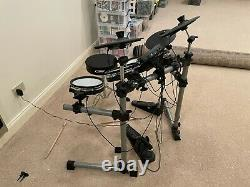 Simmons SD350 Electronic Drum Kit with Mesh Pads Black and White