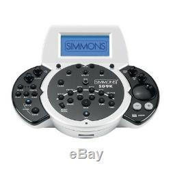 Simmons SD9K Electronic Drum Kit With Rack and Module Opened box