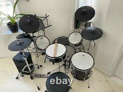 X-Drum 9 Piece Electronic Drum Kit Plus Hardware, Stool and Amplifier