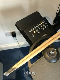 Yamaha DTX400K Electronic Digital Drum Kit Plus Kick Pad and Pedal