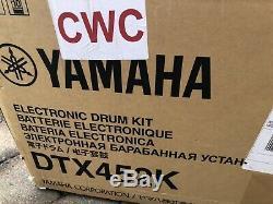Yamaha DTX452K Electronic Drum Kit Used 2 Times