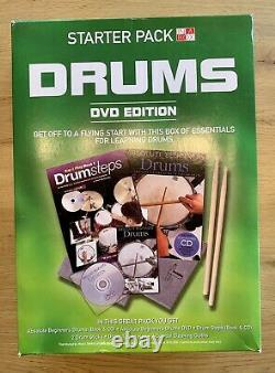 Yamaha DTX500 Electronic Drum Kit, DTLK9 pad set, MS50DR speaker set + extras