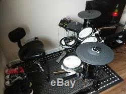 Yamaha DTX502 Electronic Drum Set Upgraded