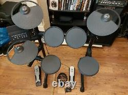 Yamaha DTX 400K Electronic Electric Drum Kit with Headphones and Sticks. VGC
