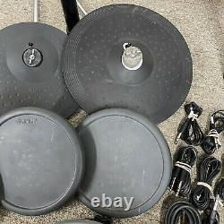 Yamaha DTX Drums DTX500 Electronic Drum Kit Snare Cymbal Kick Pad Tom (8 Piece)