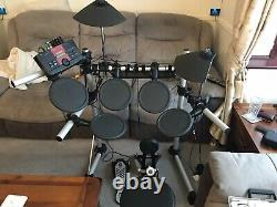 Yamaha DTXplorer Electronic Drum Kit & Throne