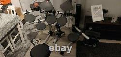 Yamaha DTXplorer Electronic Drum Kit with amplifier