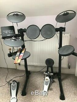 Yamaha Dtx450k Electronic Drum Kit With Kick Pad Great Condition