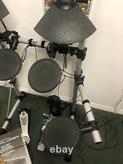 Yamaha Dtxplorer Electric Electronic Digital Drum Kit Set Full Set