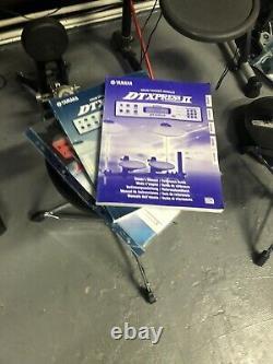 Yamaha Dtxpress 2 ii Electric Electronic Digital Drum Kit Set With Extra Pad