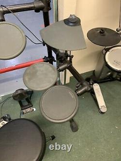 Yamaha Dtxpress 2 ii Electric Electronic Digital Drum Kit Set Withextra Tom Stool