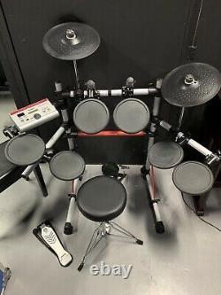 Yamaha Dtxpress iv 4 Electric Electronic Digital Drum Kit Set With Stool